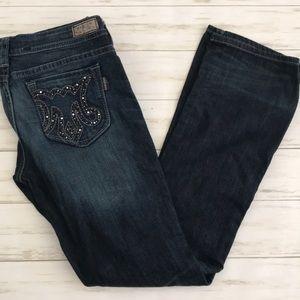 MEK Denim Slim Bootcut Jeans size 31